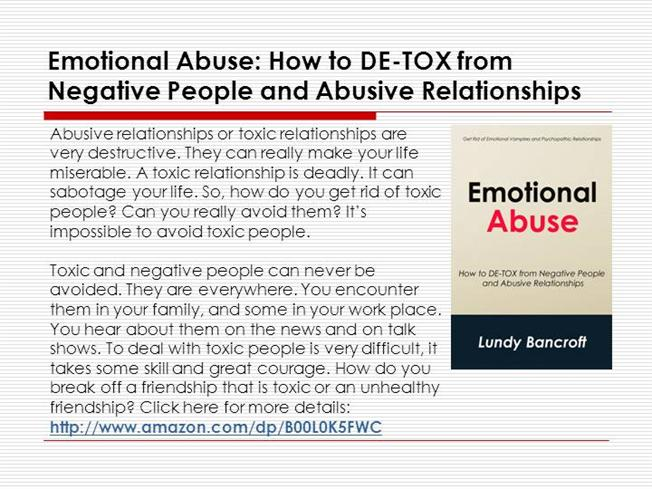 How to get over an emotionally abusive relationship