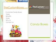 the custom boxes candy boxes wholesale packaging