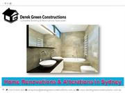 Home Renovations & Alterations in Sydney