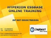 HYPERION ESSBASE ONLINE TRAINING | HYPERION ESSBASE Project Support