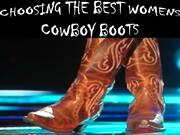 Choose The Best Women Cowboy Boots With Some Assured Gifts!