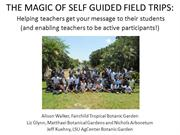 Education_The Magic of Self Guided Field Trips