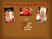 India: Arranged Marriages
