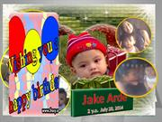 JAKE ARDE BIRTHDAY SLIDE