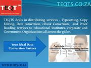 Outsource Data Conversion to TEQTS Johannesburg