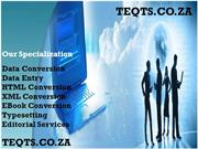 Data Conversion by TEQTS @ Johannesburg!