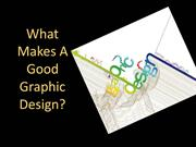 What Makes A Good Graphic Design