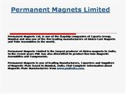 Magnet Manufacturers In India, Permanent
