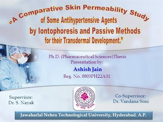 Ashish jain phd viva ppt authorstream toneelgroepblik Images