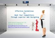 Effective  guidelines to Beat Your Competitors Through superior Web De