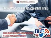 Social Media Training for Accounting Firms