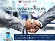 Social Media Training for Recruiters