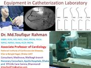 equipments in catheterization laboratory