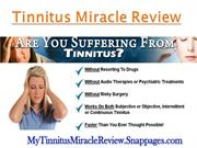 Tinnitus Miracle Review – A Permanent Solution to Abnormal Ear Noise