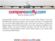 Book Online Cheapest vacation packages at Compareandfly