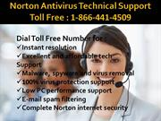 Norton Technical Support Number 1-866-441-4509