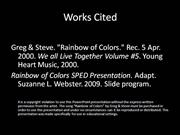 colors song slideshow