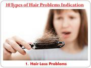 10 Types of Hair Problems Indication