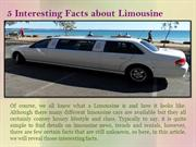 5 Interesting Facts about Limousine