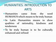 intro-humanities final