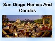 San Deigo Homes and Condos