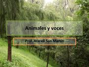 Voces de animales