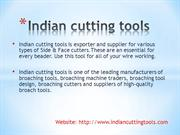 Indian cutting tools ppt