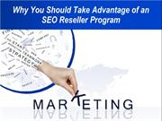 Why You Should Take Advantage of an SEO Reseller Program
