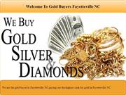 Gold Buyers Fayetteville NC