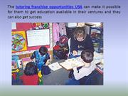 Tutoring Franchise Opportunities USA
