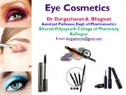 Eye Cosmetic Dr. D. A. Bhagwat