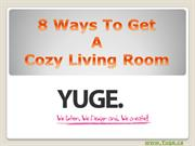 8 ways to get a cosy living room