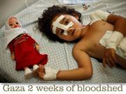 Gaza 2 weeks of bloodshed