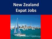 New Zealand Expat Jobs for Foreigner Job Seekers