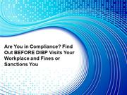 Are You in Compliance?