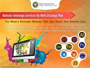 Website Redesign - Web Strategy Plus