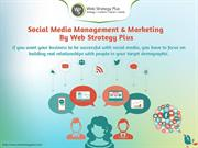 Social Media Management & Marketing - Web Strategy Plus