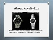 About RoyaltyLux - Fine Watches