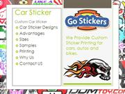 Car Stickers by Go Stickers