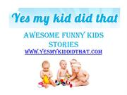 Awesome Funny Kids Stories - www
