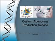 Adenovirus service from Creative Biogene
