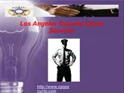 Los Angeles Security Guard Services