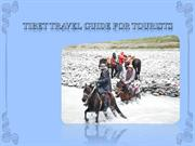 TIBET TRAVEL GUIDE FOR TOURISTS