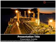 Oil and Gas PowerPoint Template – Slide World