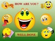 HOW ARE YOU - TEST