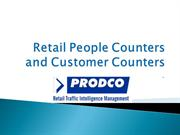 Retail People Counters and Customer Counters - www.prodcotech.com