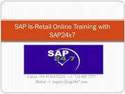 SAP24x7 online sap is retailcorporate training