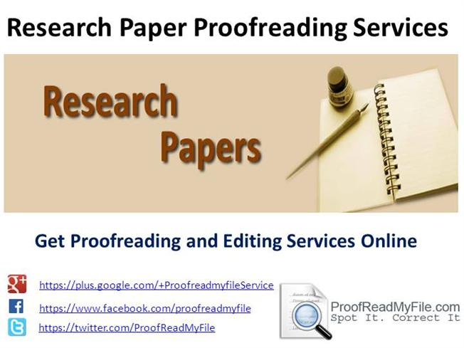 online research paper editor
