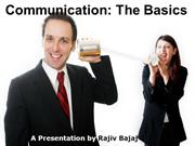 Communication - The Basics