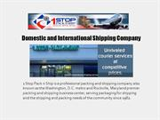 Domestic and International Shipping Company